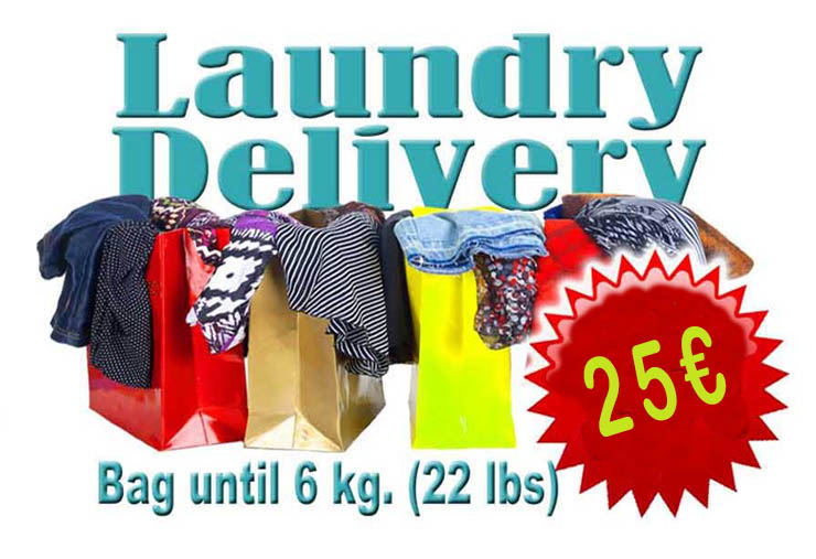 Laundry delivery service in Valencia